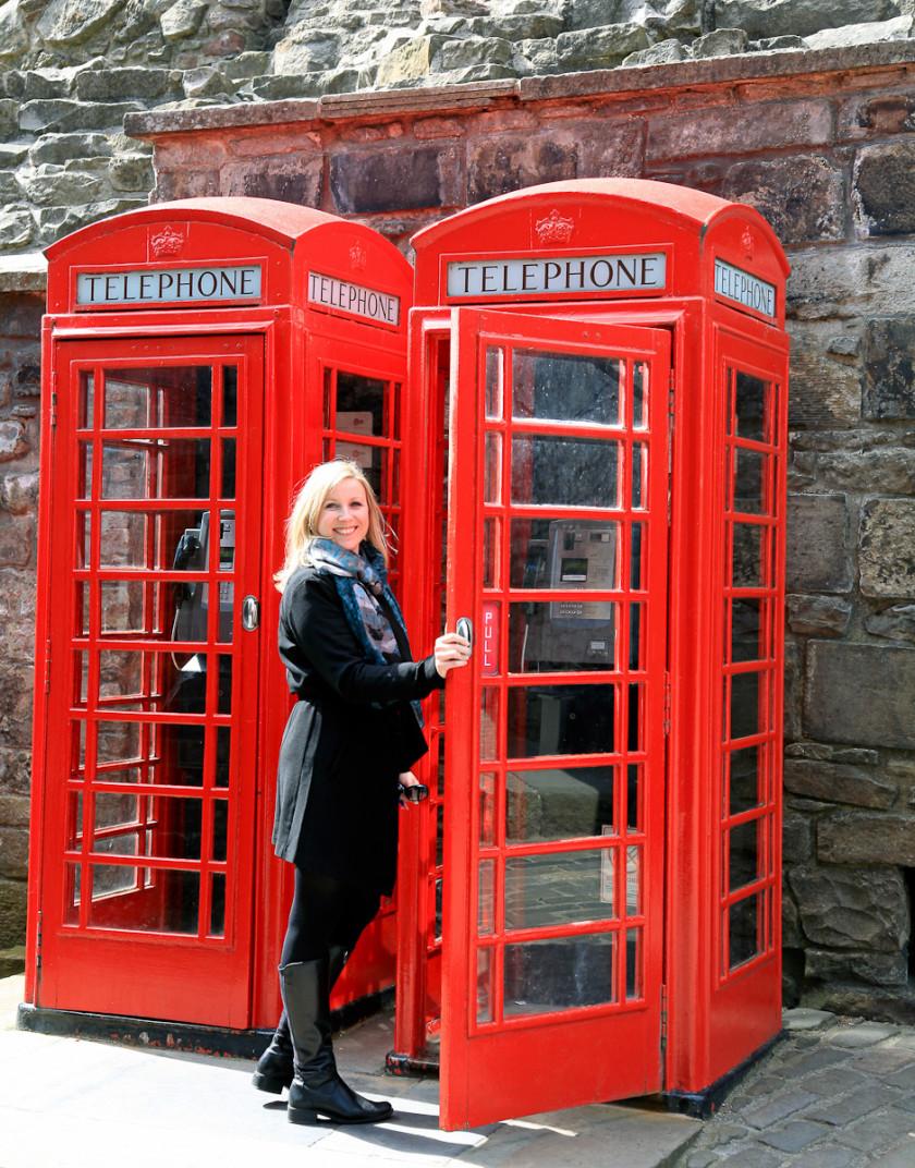 Edinburgh: Rote Backsteine und viel grün und gelb…..