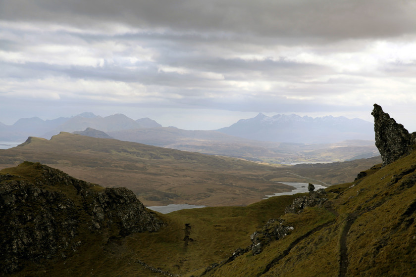 Isle of Skye – To live on Skye you need to be waterproof!