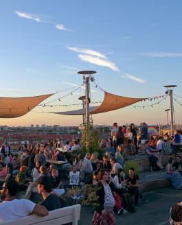 Laue Sommernächte in Berlin – Rauf auf den Klunkerkranich!