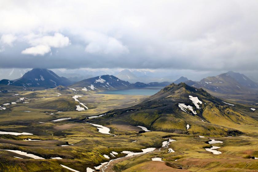Gut 80 km auf dem Laugavegur von Skogar nach Landmannalaugar