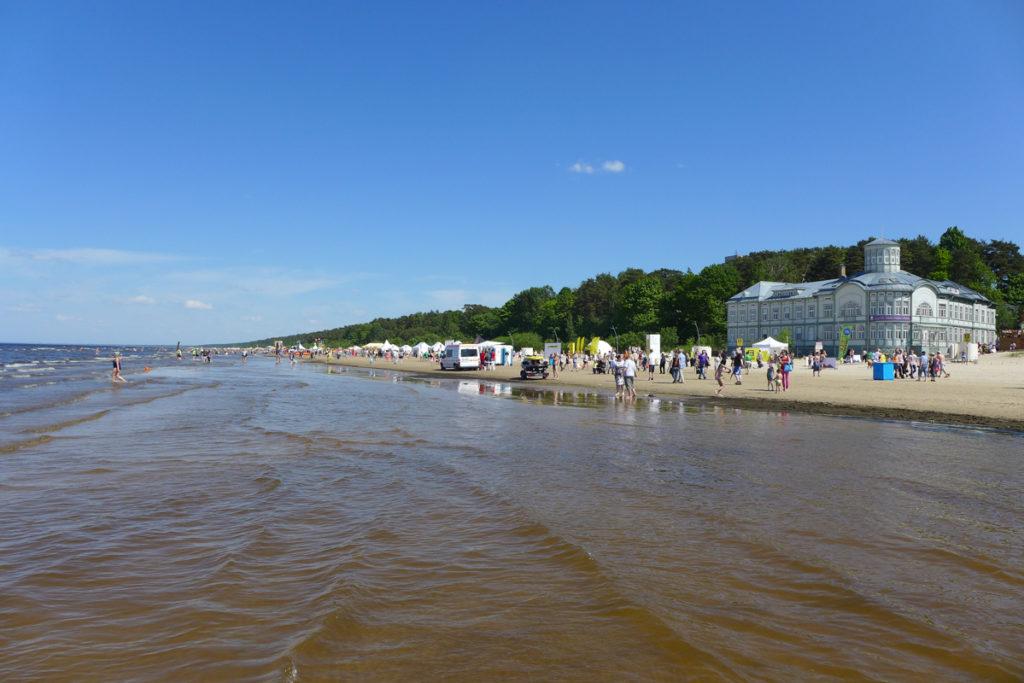 Ostsee-Strand-Jurmala