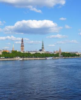 Traumhaftes Wetter beim Partywochenende in Riga