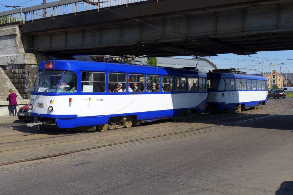 Straßenbahn-Riga