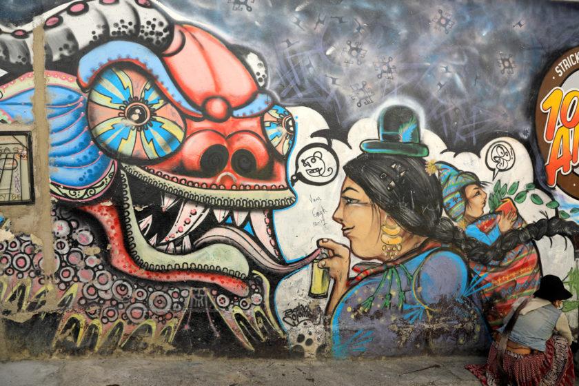 La Paz – Atemnot durch dünne Luft oder Smog???