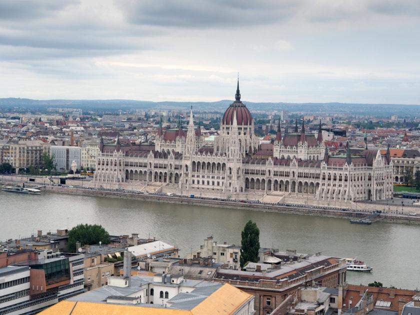Ein langes Wochenende im brütend heißen Budapest