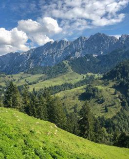 Eine große Runde im Kaisergebirge mit Überschreitung der Hackenköpfe