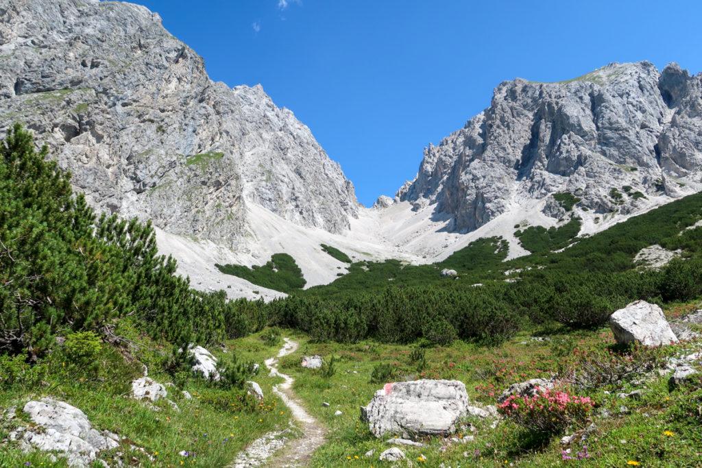 Abstieg_Gruensteinscharte